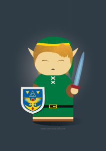 Link from Zelda: A link to the past